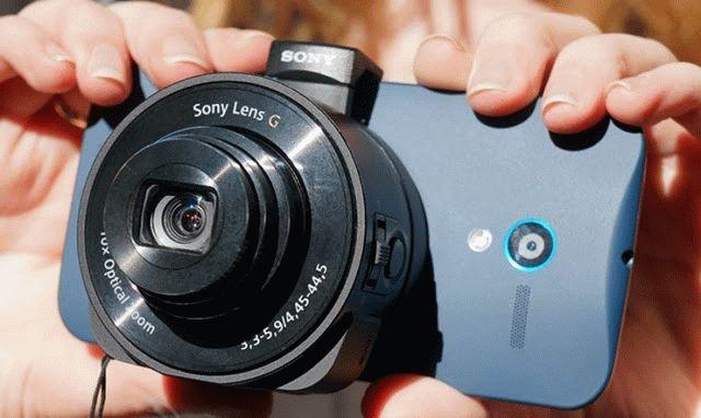 Обзор Sony QX10