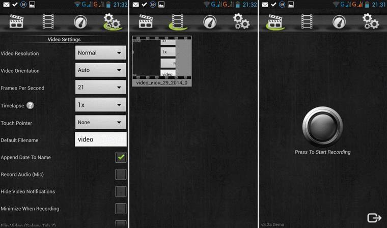 скачать на андроид программу для записи с экрана - фото 8