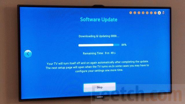 Обновление программного обеспечения телевизора