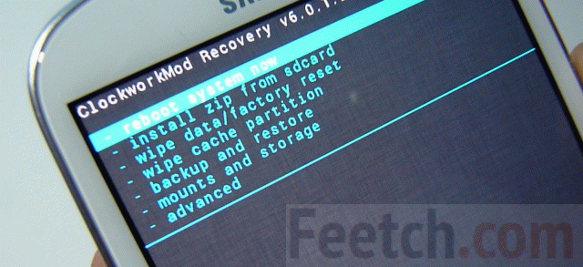 ClockworkMod на Android