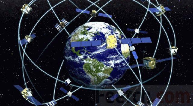 GPS спутники