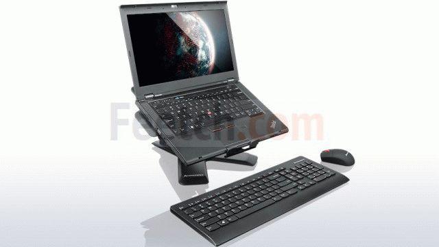 Беспроводная клавиатура и ноутбук
