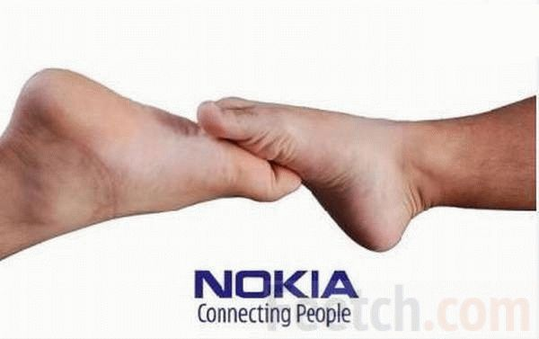 Забавное лого Nokia