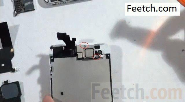 remove-2-screws-of-ear-phone