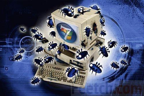 Вирусы атаковали компьютер