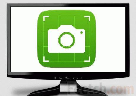 Монитор со скриншотом