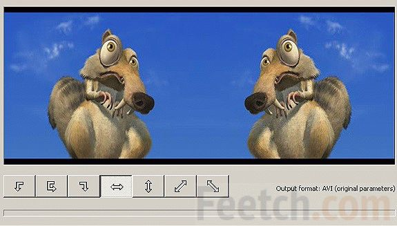 Отражение видео