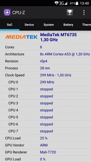 CPU-Z - процессор