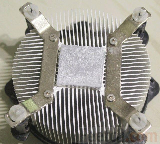 Процессорный радиатор