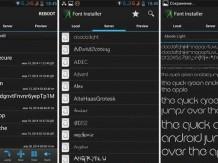 Как установить или изменить шрифт в Android