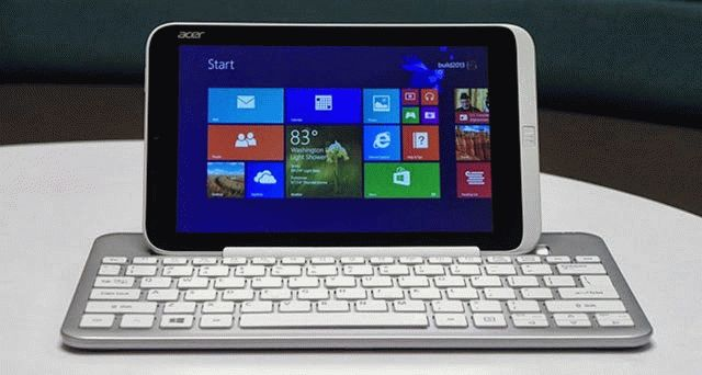 Обзор Acer Iconia W3
