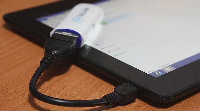 Как подключить 3g модем к планшету