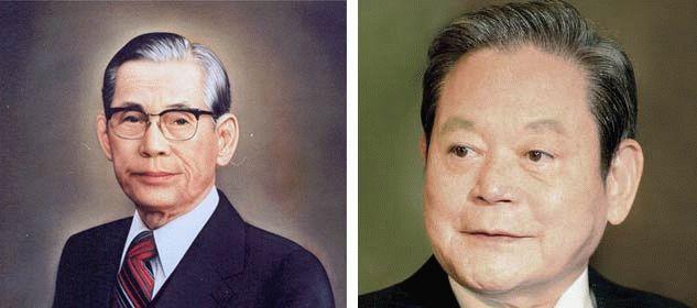Основатель Samsung и его сын