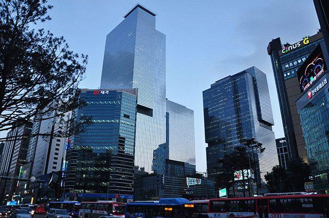 Штаб-квартира Samsung в Сеуле