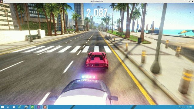 asphalt overdrive windows 10