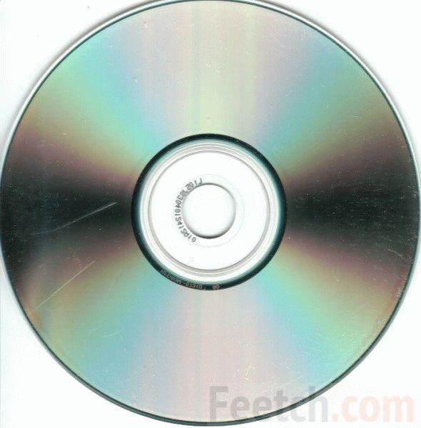 Поцарапанный CD диск