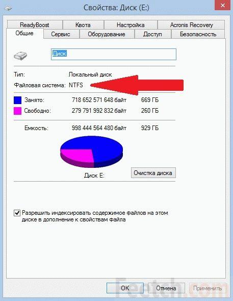 Проверка файловой системы диска