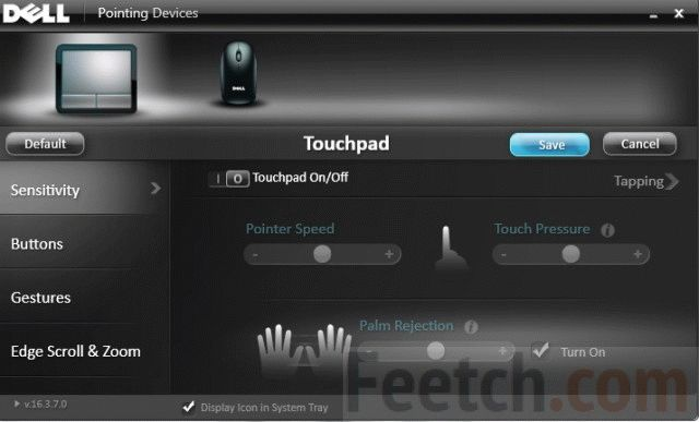 ПО для Touchpad DELL