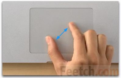 Масштаб на сенсорном экране