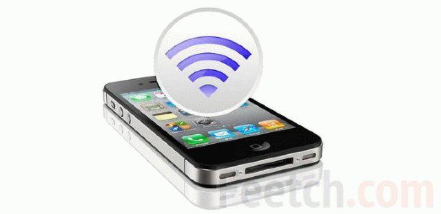 подключение wi-fi на смартфоне