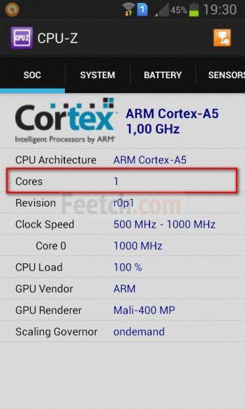 CPU-Z для Андроид