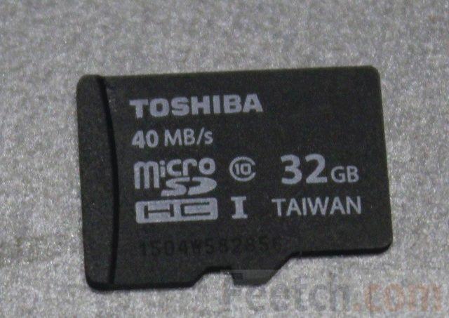 Тип карты памяти
