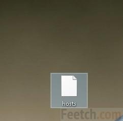 Новый файл hosts