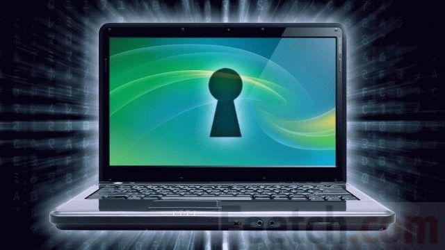 Ноутбук под паролем