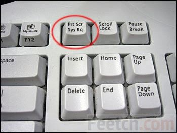 Кнопка print screen