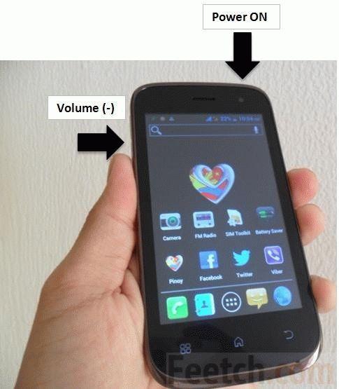 Кнопки создания скриншота на  android