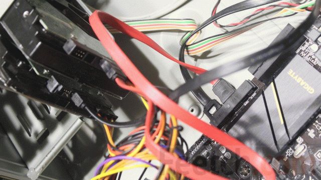 Подключение жёстких дисков